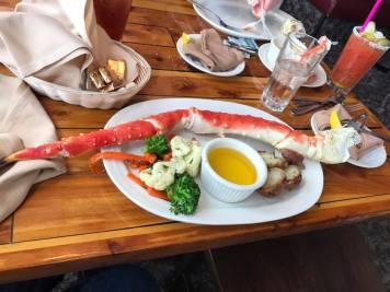 Alaska King Crab leg